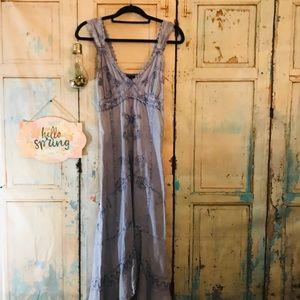Giocam Denim embroidered  dress